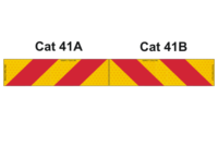 Cat 41 Rear Markers