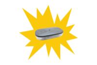 Magnetic LED Amber Light Bar - Amber flashing light bar