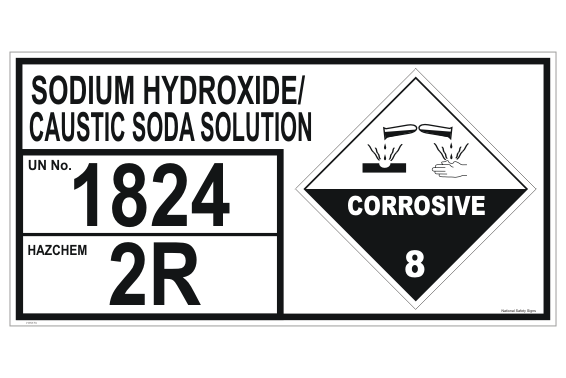 Sodium Hydroxide | Caustic Soda Solution Storage Panel