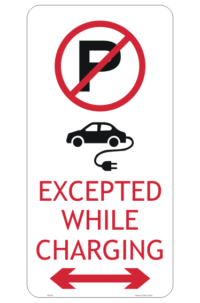 QLD Electric Vehicle sign
