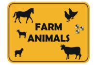 Farm Animal and Livestock Signs