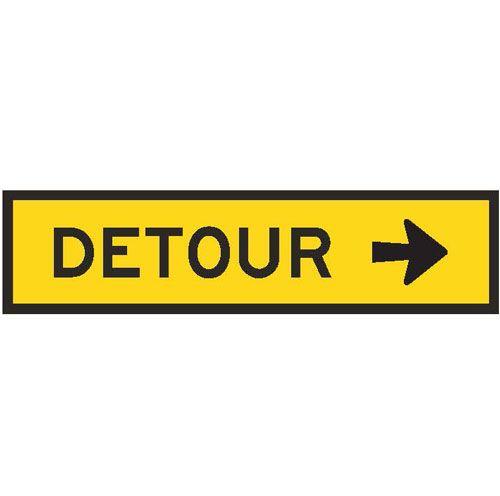 T5-1AR Detour Right arrow