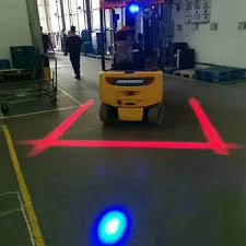 Forklift Red line Warning Light