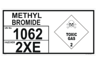 Methyl Bromide Storage Panel