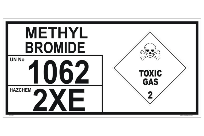 Methyl Bromide Storage Panel