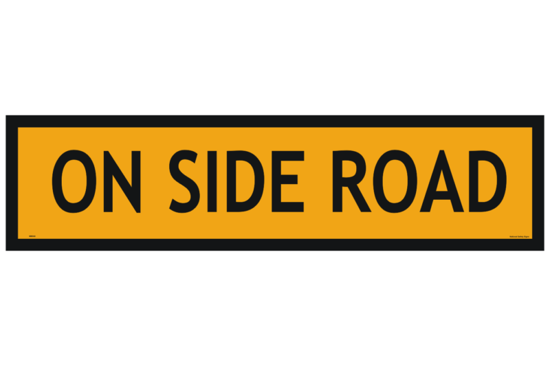 On Side Road sign 1200x300
