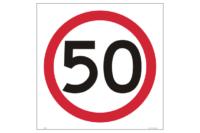 Multi Message 50 kph Sign
