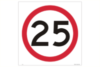 Multi Message 25kph Sign