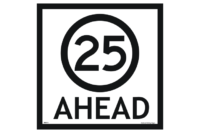 25 kph ahead sign
