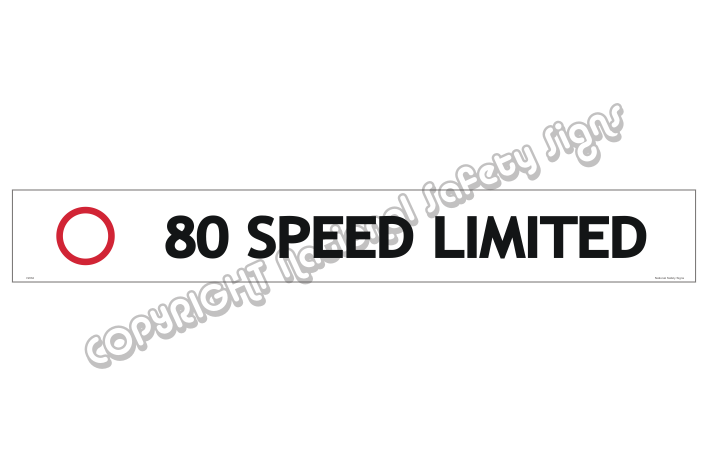 80 Speed Limited