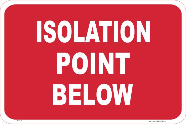 Isolation Point Below